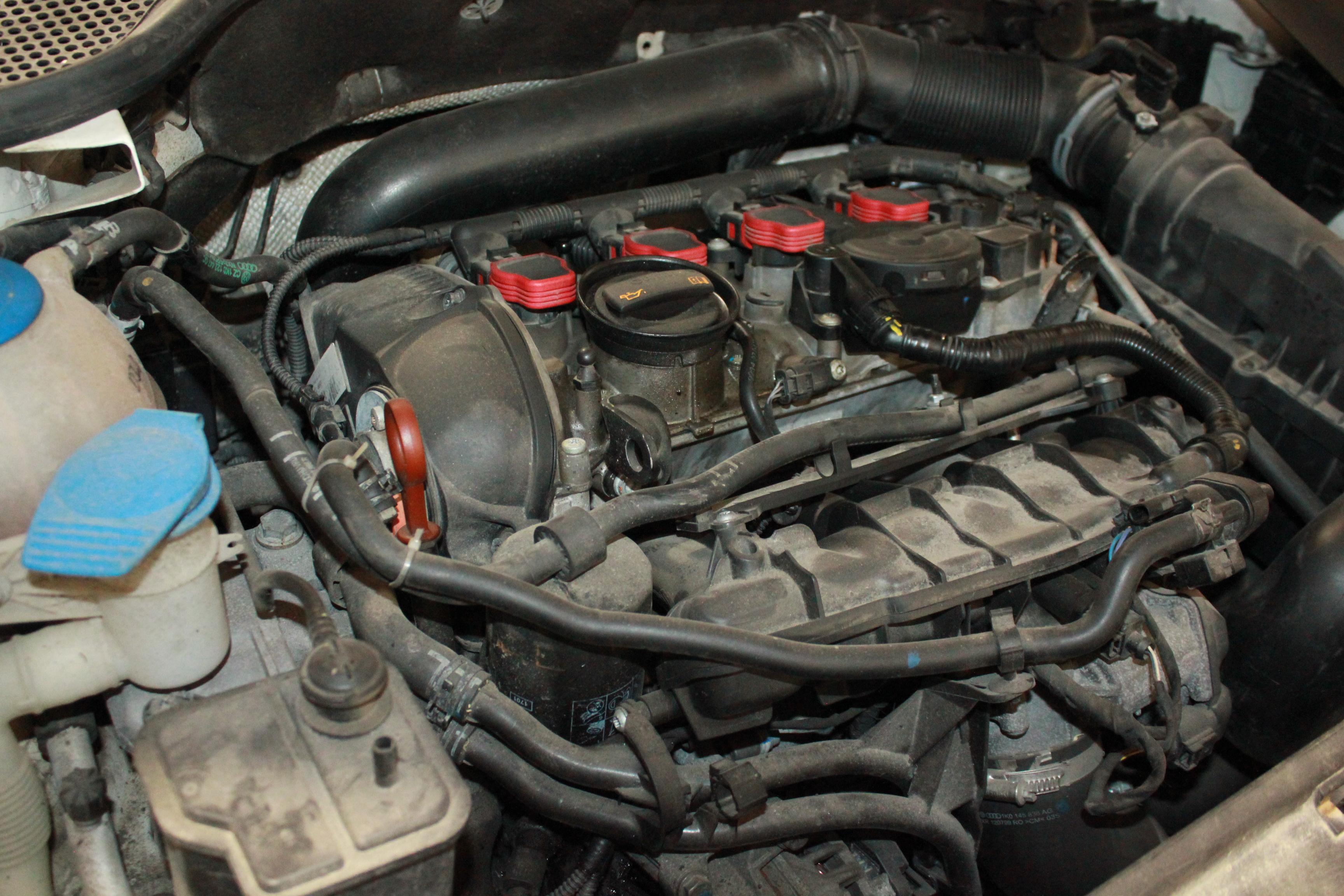 Ремонт двигателя группы VAG